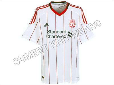 Football Club T-Shirt ( V Neck )