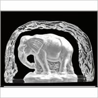 Luxurious Crystal DC Elephant
