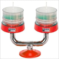 Dual Aviation Obstruction Light