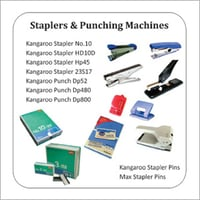 Stapler - Stapler Pins - Adhesives - Transparency - Writing Pad