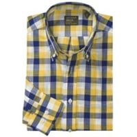 Gitman Brothers Button Down Pattern Sport Shirt