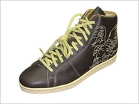 Mens Casual Brown Shoes