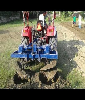 Double Pit Digger For Sugar Cane Planting