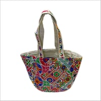Embroidery Round Bag