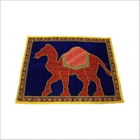Camel Embroidery Wall Hanging