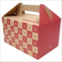 Printed Corrugated Gift Packaging Box