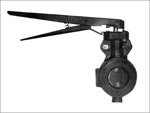 Cast Iron Butterfly Valves Water Type