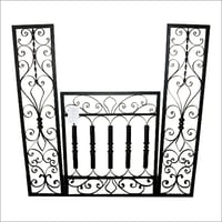 wrought iron wall decor
