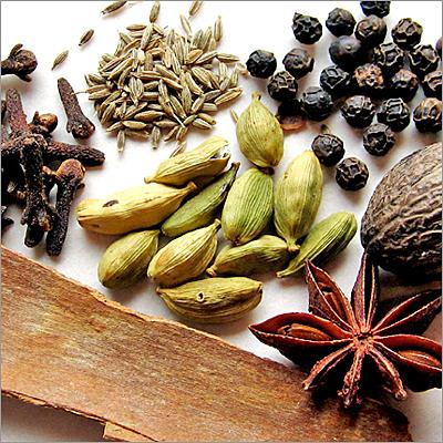 Cardamom/Cumin/Black Pepper/Whole Spices