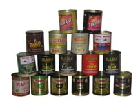 Decorative Tabacco Tin Containers