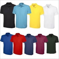 Mens Polyester Polo T Shirt