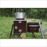 Cooking Biomass Pellet Stove