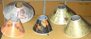 Handmade Paper Lampshades