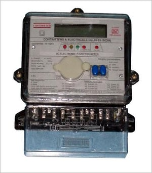Ac Electronic Trivector Meter