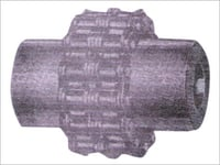 Flexible Roller chain coupling