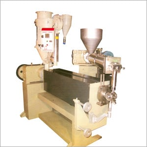 High Speed Two Layer Cable Extrusion Line