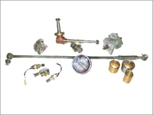 Spindle, Oil Pump, Bushes, Tie Rod Assembly