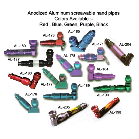 Anodized Hand Pipes
