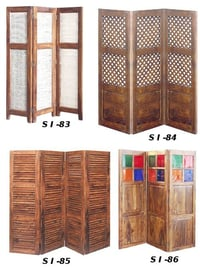 Indian Wooden Screen