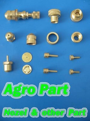 Brass Agriculture Components