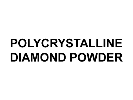 Polycrystalline Diamond Powder