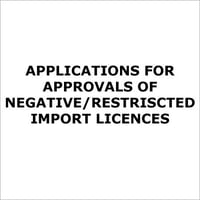 Restriscted Import licences Services