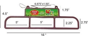 Pouch Display Hanger For Advertising