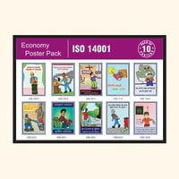 ISO 14001 Economy Poster Pack