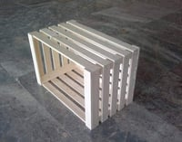Square Shape Wooden Packing Box