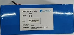 Rechargeable Lithium Ferro Phosphate Battery Pack