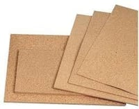 Brown Color Cork Sheet