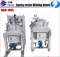 Epoxy Resin Thin Film Degassing Vacuum Mixing With Injection Device