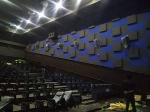 Acoustic Paneling Walls And Ceiling