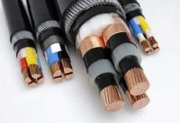 Coaxial Flexible Black Cable