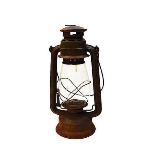 Antique Rustic Camp Lantern