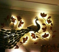Wrought Iron Interior Designing And Decoration Art
