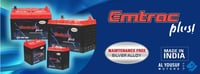 Emtrac Plus SMF Battery