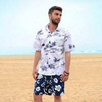 Men Casual Beach Wear Shirts