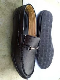 Mens Black Color Shoes