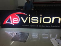 3D Glow Sign Boards