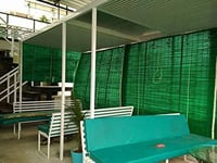 Dust Proof Green Bamboo Blinds