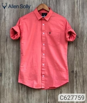 Red Color Allen Solly Shirts