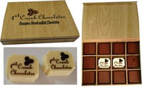 Wooden Brown Chocolate Box