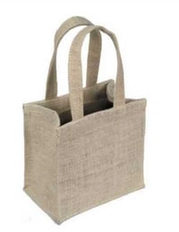 Shopping Brown Jute Carry Bags