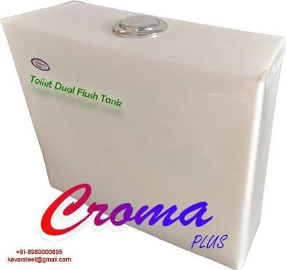 Toilet Dual Flush Tank Croma Plus Certifications: An Iso 9001: 2015 Certified Company