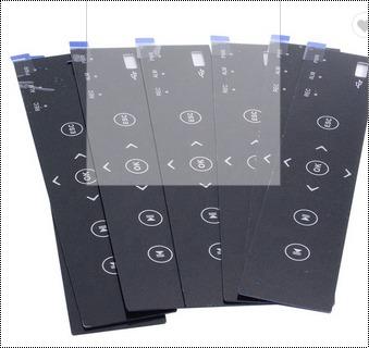 Custom Printed Pc Polycarbonate Graphic Overlay Sticker