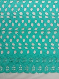 Cotton Dry Lace Fabric