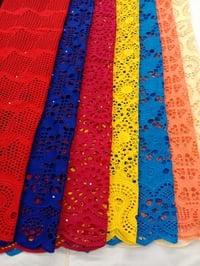 Easily Washable Colorful Dry Lace