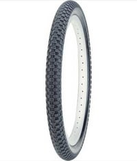 Black Rubber Bicycle Tyres