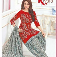 Ladies Attractive Cotton Salwar Suit